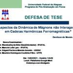 Defesa de Dissertação de Mestrado - Denilson Silva
